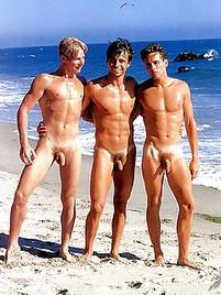 Gay on beach porn
